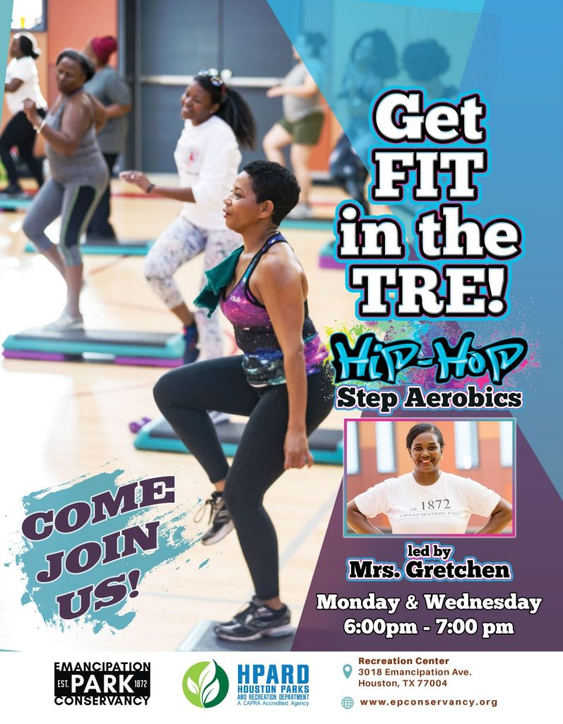 Get Fit in the Tre – Hip Hop Step Aerobics