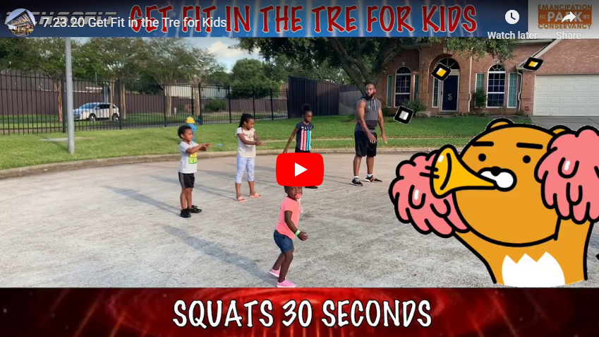 Get Fit in the Tre for Kids