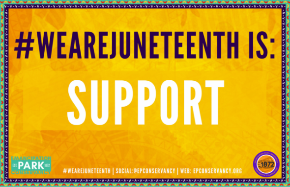 juneteenth is support